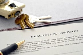 real estate contract in New York: Mortgage Contingency Clause