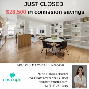 NestApple ads with Cashback to reduce Closing Costs in NYC