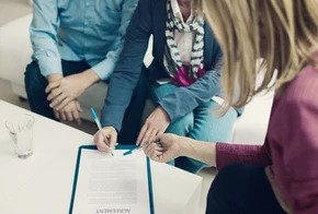 signing a contract - commitment letter