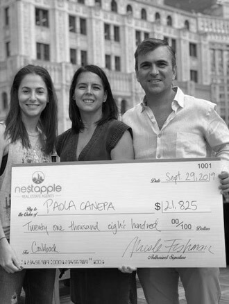 NestApple Rebate Customer Paola Canepa