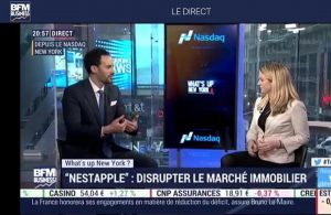 georges benoliel BFM - Nicole fishman Interview - start up - cash back - New York