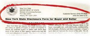 NY Disclosure Form