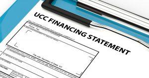 UCC financial statement