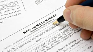 new home contract in new york