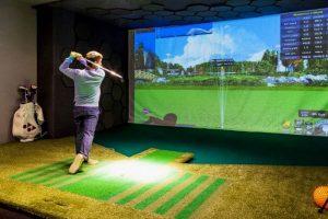 Golf Simulator - amenities examples in apartments