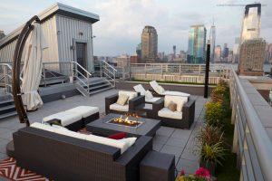 Rooftop Deck / Outdoor Space - amenities in apartment