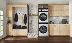 washer dryer - amenities in apartment