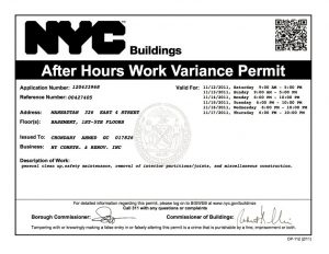 nyc building - due diligence links